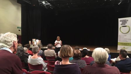 Bungay residents joined the Dementia Friends campaign during a free session at The Fisher Theatre la