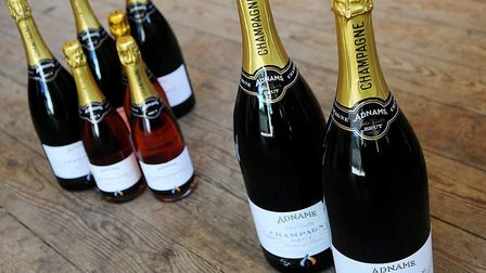 Adnams wine and champagne. Picture: Archant library.