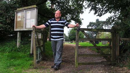 Councillor Matt Hubbard is leading the plans to create a lychgate war memorial at the entrance to Al