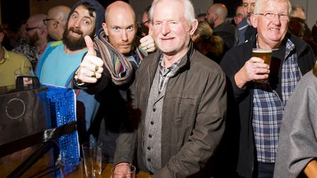 Hundreds of people attend the opening evening of the 6th Annual Beccles Beer Festival..Picture: Nick