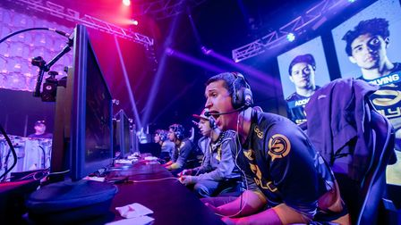 An example of Joe Brady's work, for which he has been named Esports Photographer of the Year. Pictur
