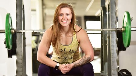 Amber Hannant has taken the junior title at the World Powerlifting Championships in America. Picture