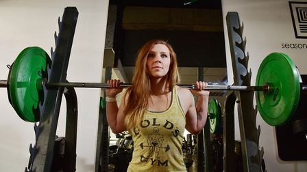 Amber Hannant from Thurlton, Norfolk is set to compete in the World Powerlifting championships in Bo