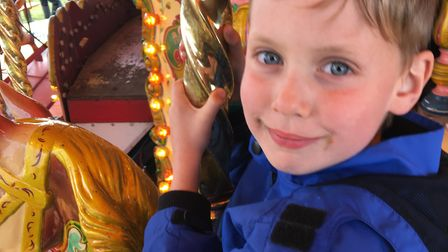 Oliver Hall lost his short battle with meningitis B in October. Picture: Bryan and Georgie Hall