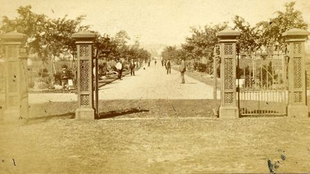The Avenue in Beccles when it was first opened. Picture: Courtesy of Beccles Town Council.