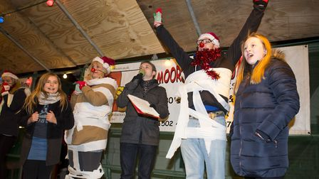 Beccles Christmas 2017 festive light switch-on.Picture: Nick Butcher