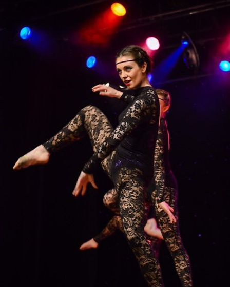 Performers from The Dance Factory in Beccles taking part in their annual show. Picture: Carmel Jane