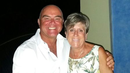 """Husband Keith hailed his wife as """"selfless until the end"""" after she donated six of her organs to sav"""