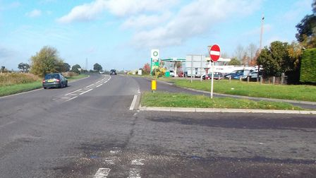 A146 Hales Junction, which is to be upgraded by Norfolk County Council. Picture: Norfolk County Coun