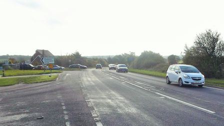 Emergency services were in attendance this morning after a collision between a van and car. Picture: