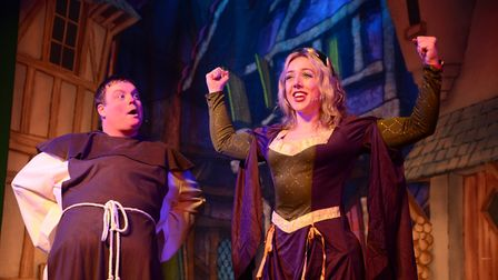 Robin Hood was performed at Beccles Public Hall over the festive period. Picture: James Norman at Ch