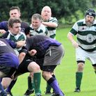 Beccles in action against Norwich Union earlier in the season. Picture: Russ Clarke
