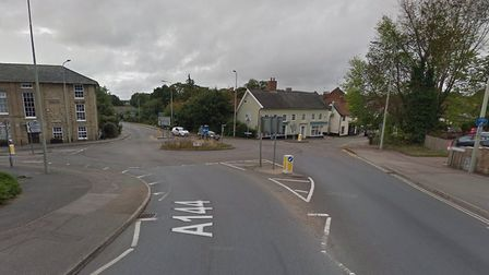 A flood warning has been issued for Halesworth and the surrounding area. Picture: Google