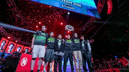 """OpTic Gaming in Las Vegas: """"This year I became the first UK photographer to shoot an esports event i"""