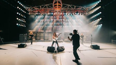 """Airbourne music video shoot: """"Over the last three years I've been working on a documentary project"""