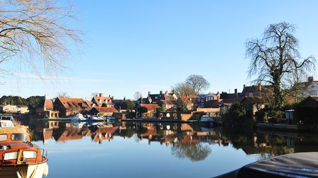 The River Waveney at Beccles. Picture: Nick Butcher.