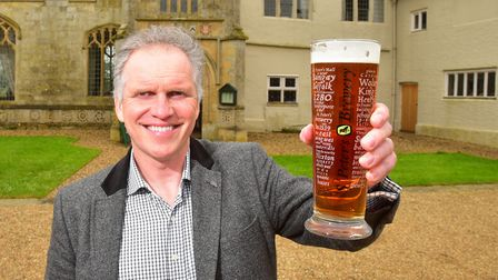 Steve Magnall, of St Peters Brewery. PHOTO: Nick Butcher
