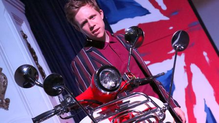 Brad Mercer as Jimmy Cooper in Spotlight Musical Theatre Group's adaptation of Quadrophenia. Photo: