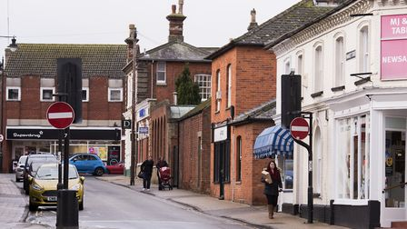 Market Street, Beccles.Picture: Nick Butcher