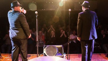 Committed to the Blues Brothers at The Fisher Theatre, Bungay. Photo: Committed to the Blues Brother