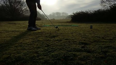 Teeing off at Beccles Golf Club. Picture: Submitted