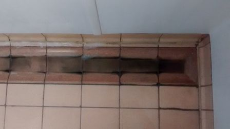 Some of the cleanliness and safety issues raised by Dean Knieriem at Bungay Pool and Gym. Picture: D