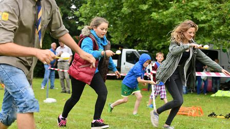 The Kids' Fun Day at a previous Bungay Festival. Picture: Archant library.