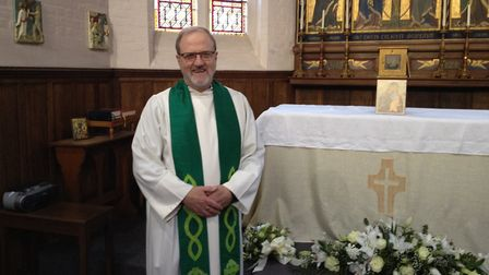 The Revd Reg Kirkpatrick, who has lived in Ditchingham for 33 years, has been appointed to the role.
