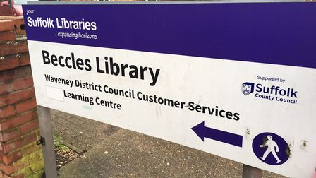 Beccles Library. Photo: James Carr.