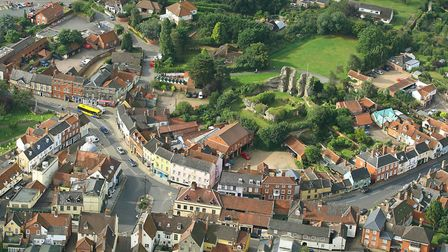 Bungay has been named as one of the best places to live in Britain by the Sunday Times. Picture: Mik