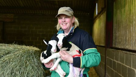 Cratfield farmer Lotty Barbour said UK Power Networks had tried hard to fix the problems. Picture: S
