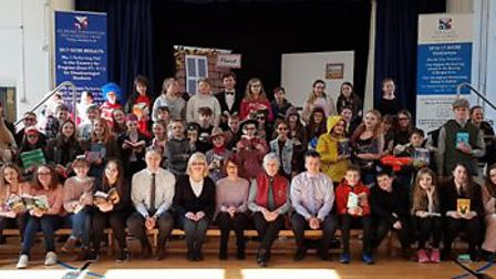 Beccles Free School celebrated World Book Day on March 5. Picture: Courtesy of Beccles Free School