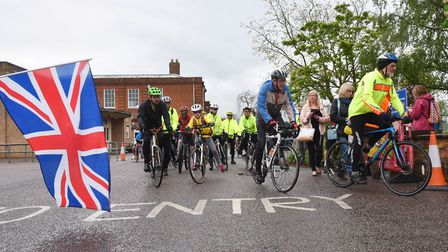 Last year's Beccles Cycle For Life event. Picture: Archant library.