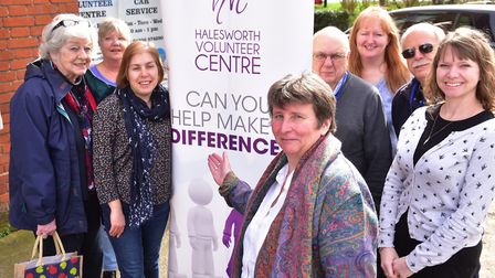 Halesworth Volunteer Centre has come third in the Hopkins Homes Suffolk Charity Vote. PHOTO: Nick Bu