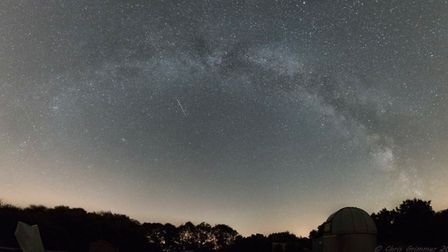 The sky over Seething enjoyed by visitors at the stargazing event. Picture: Chris Grimmer.
