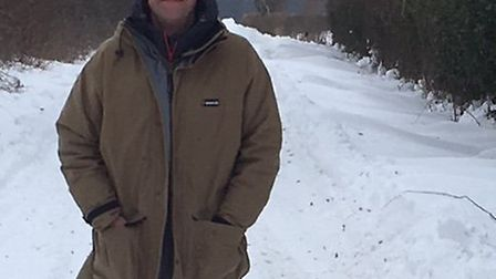 Landlord Andrew Freeland, who walked more than five miles to open The Swan pub in Loddon. Picture: C