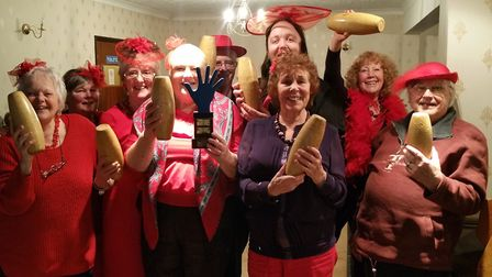 Beccles Red Hat Ladies, Beccles and Districts Lions Club and Beccles Helping Hand came together for
