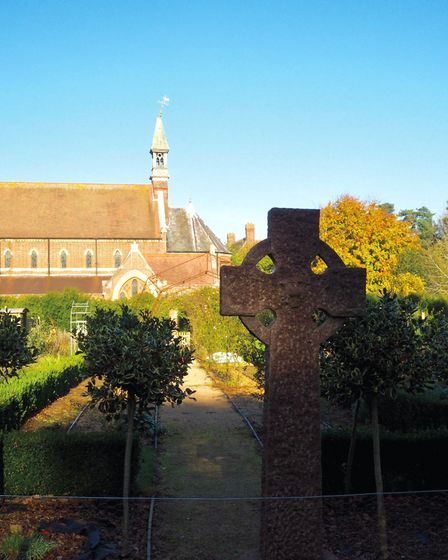 The grounds of All Hallows convent in Ditchingham. PICTURE: Farrows