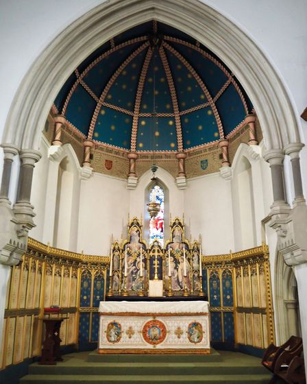 The chapel at All Hallows convent in Ditchingham. PICTURE: Farrows