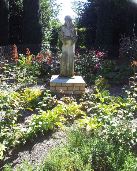 The gardens of All Hallows convent in Ditchingham. PICTURE: Farrows