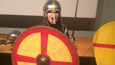 Bungay High School pupils enjoyed an informative visit to Norwich Castle to learn about the Norman C