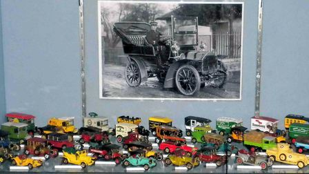 Part of the Model Vehicles through the Ages display at the museum. PICTURE: Courtesy of Beccles and