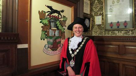 Bungay mayor Mary Matthews. Picture: Bungay Town Council.