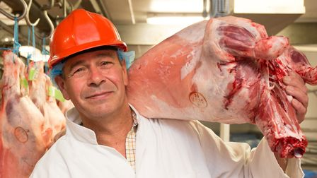 Charlie Mills, wholesale manager, Bramfield Meats. Picture: KEIRON TOVELL