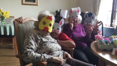 Brooke residents preparing for Easter. PICTURE: Courtesy of Brooke House.
