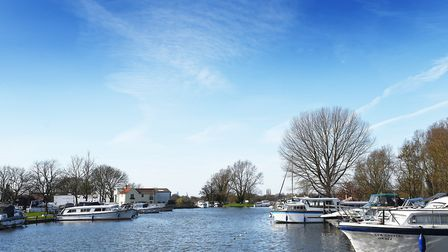 The first ever Waveney River Swim will finish at Beccles Quay. Picture: ANTONY KELLY