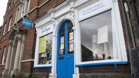 The Sue Ryder charity shop in Bungay. Picture: Nick Butcher
