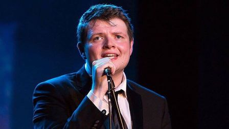 Beccles crooner Tome Elgie will be hosting 'Young Talent @ the Hall' this May. Photo: Tom Elgie.