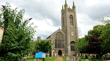St Mary's Church, Bungay. Picture: Nick Butcher.