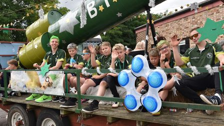 Last year's Beccles Carnival parade. Picture: Sonya Duncan.